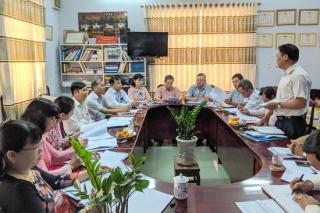 Ban Pháp chế HĐND thị xã Trảng Bàng giám sát tại Tòa án nhân dân