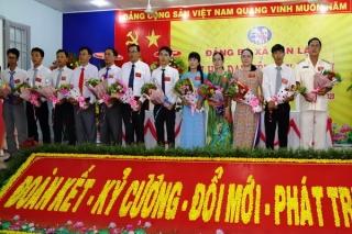 Đảng bộ xã Tân Lập Đại hội đại biểu lần thứ XII nhiệm kỳ 2020-2025
