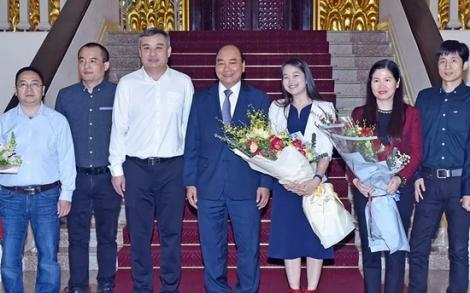 Thủ tướng Nguyễn Xuân Phúc tiếp lãnh đạo Tập đoàn Texhong Việt Nam