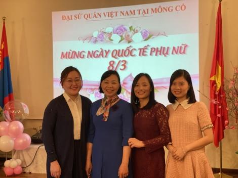 Đại sứ quán Việt Nam tại Mông Cổ kỷ niệm 110 năm ngày Quốc tế Phụ nữ 8/3