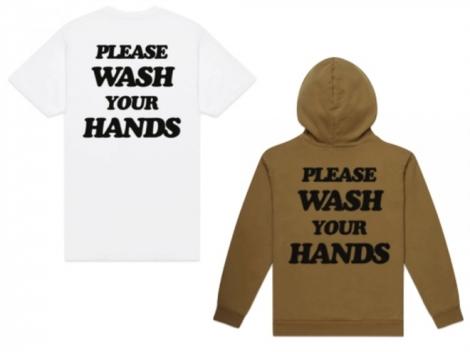 """Chiếc áo """"nhắc rửa tay"""" được nhiều người mua giữa dịch Covid-19"""