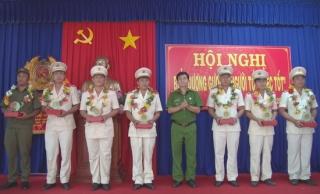 Công an Tân Biên biểu dương điển hình tiến tiến (giai đoạn 2015-2020)