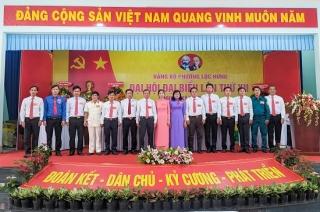 Đảng bộ Phường Lộc Hưng tổ chức thành công Đại hội điểm nhiệm kỳ 2020 - 2025