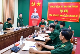 Phó Tư lệnh BĐBP kiểm tra công tác phòng chống dịch tại Tây Ninh