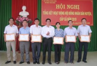 HĐND huyện Tân Biên tổng kết hoạt động năm 2019