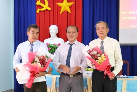HĐND Thị trấn Gò Dầu tổ chức kỳ họp bất thường bầu Chủ tịch UBND thị trấn