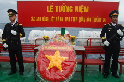 Tinh thần của các chiến sĩ Gạc Ma và ý chí quyết tâm bảo vệ biển đảo của Tổ quốc