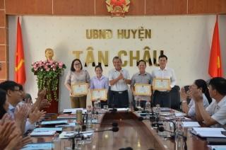 HĐND huyện Tân Châu tổng kết hoạt động năm 2019