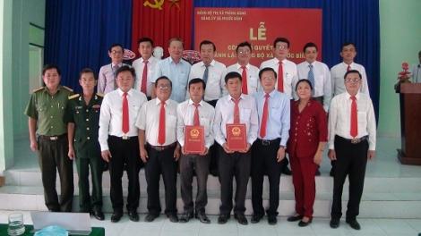 Thành lập Đảng bộ xã Phước Bình
