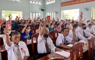 Châu Thành tổ chức Đại hội điểm tại Đảng bộ xã Hòa Hội