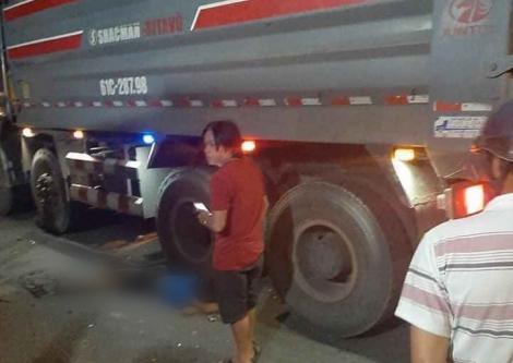 Va chạm xe tải, một người tử vong.