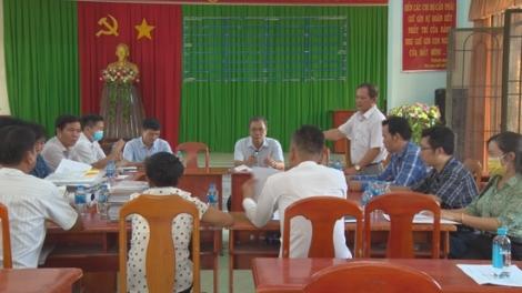 Sở VHTT & DL khảo sát, thẩm định các tiêu chí NTM tại xã Tân Bình