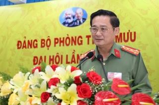 Đảng bộ Phòng Tham mưu tổ chức đại hội điểm nhiệm kỳ 2020 – 2025
