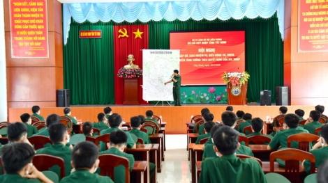 Biên phòng Tây Ninh giao nhiệm vụ cho lực lượng tăng cường lên biên giới chống dịch