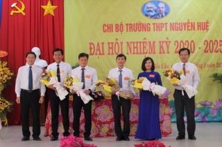 Đại hội Điểm Chi bộ Trường THPT Nguyễn Huệ, Bến Cầu