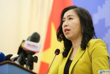 Việt Nam không công nhận 'đường 9 đoạn' của Trung Quốc tại Biển Đông