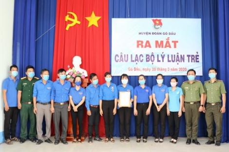 Ra mắt CLB Lý luận trẻ huyện Gò Dầu