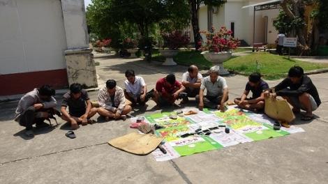 CA Tân Châu: Bắt tụ điểm đá gà cựa và lắc tài xỉu