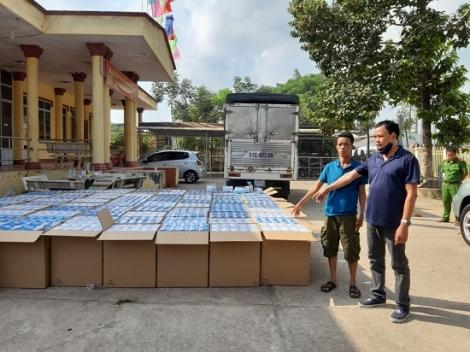 CATN: Bắt giữ gần 300.000 khẩu trang y tế không rõ nguồn gốc vận chuyển qua biên giới