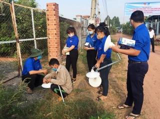 """Huyện Đoàn Dương Minh Châu: Khởi công xây dựng công trình thanh niên """"Thắp sáng đường quê"""""""