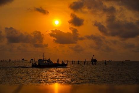 Trải nghiệm săn hoàng hôn trên biển Vũng Tàu