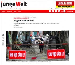 Báo Đức ca ngợi Việt Nam chủ động và quyết liệt trong phòng chống dịch