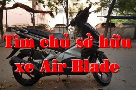 CATP.Tây Ninh thông báo truy tìm chủ sở hữu xe mô tô