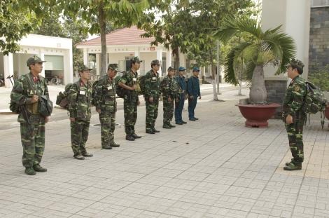 LLVT Hòa Thành: Kết hợp chặt chẽ giữa giáo dục chính trị và huấn luyện chiến đấu