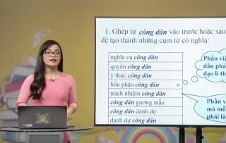 Vướng mắc khi dạy học qua Internet và truyền hình