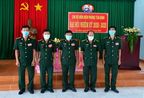 Chi bộ Đồn biên phòng Tân Bình Đại hội nhiệm kỳ 2020-2025