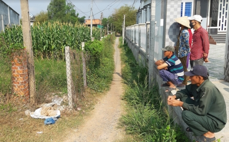 Huyện Dương Minh Châu: Cưỡng chế thu hồi đất giao lối đi chung cho người dân