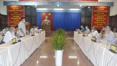 Đoàn công tác Bộ Y tế làm việc tại Tây Ninh
