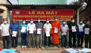 """Châu Thành: Ra mắt mô hình """"Vận động, hỗ trợ đồng bào dân tộc Khmer xây dựng đời sống văn hóa và phát triển kinh tế"""""""