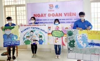 Hòa Thành tổ chức thi vẽ tranh cổ động phòng chống dịch Covid-19