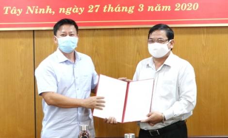 Công bố quyết định bổ nhiệm Phó Trưởng ban Tiếp công dân tỉnh