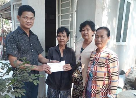 Xã Tân Đông: Hỗ trợ một thanh niên mắc bệnh hiểm nghèo