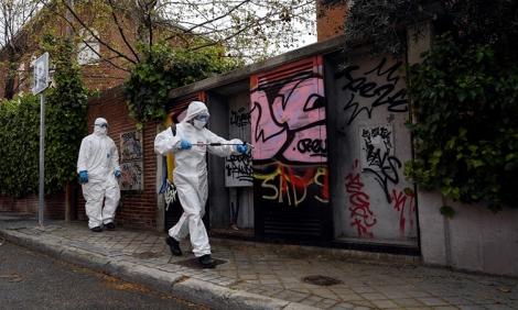 Số ca nhiễm nCoV tại Tây Ban Nha vượt Trung Quốc