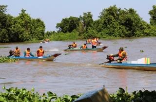 Tây Ninh: Dừng hoạt động vận tải khách ngang sông trong 15 ngày