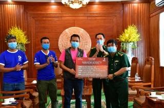 Các tổ chức, cá nhân ủng hộ trên 300 triệu đồng cho BĐBP Tây Ninh chống dịch