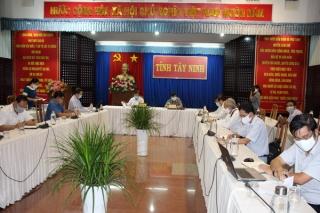 Ban Chỉ đạo phòng, chống dịch bệnh tổ chức hội nghị trực tuyến