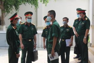 Kiểm tra công tác phòng, chống dịch Covid-19 và công tác huấn luyện tại Tây Ninh