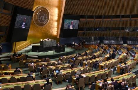 Đại hội đồng Liên hợp quốc lần đầu tiên thông qua nghị quyết về chống đại dịch COVID-19