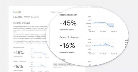 Google công bố dữ liệu vị trí trên smartphone