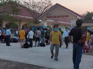 Tây Ninh: Giải toả 1.259 người ở các khu cách ly tập trung