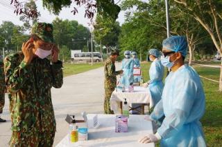 Tập huấn phương án tiếp nhận, công dân nghi nhiễm SARS-COVI-2 đợt 2