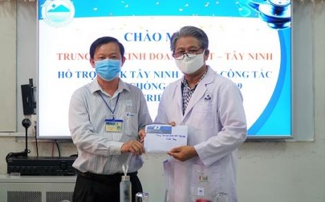 VNPT Tây Ninh: Hỗ trợ 40 triệu đồng cho BVĐK Tây Ninh
