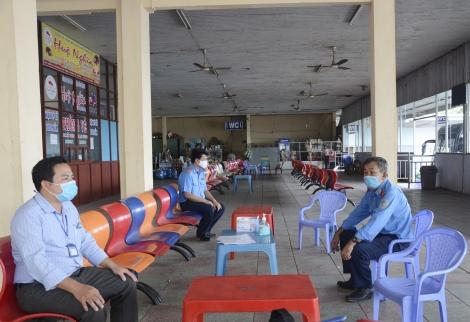 80 công dân Tây Ninh hoàn thành cách ly ở tỉnh ngoài đã về địa phương