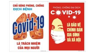 Huyện Dương Minh Châu: Tăng cường công tác tuyên truyền và hỗ trợ phòng chống dịch Covid-19