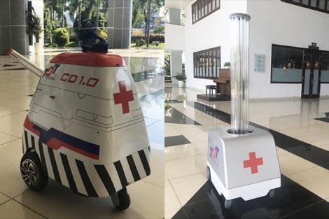 """""""Đội quân"""" robot Made in Vietnam tham gia chống dịch Covid-19"""