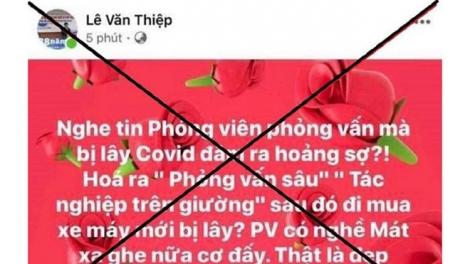 Xúc phạm nhà báo, luật sư Lê Văn Thiệp bị phạt 8 triệu đồng